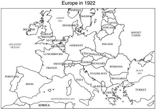 Us History Map Test - Germany map test